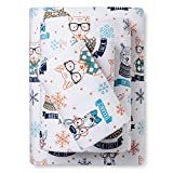 Pillowfort Flannel Sheet Set Hipster Animals Full Bed Size Sheets Bedding