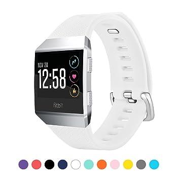 Amazon.com: chenia Bandas de reloj accesorios silicona ...