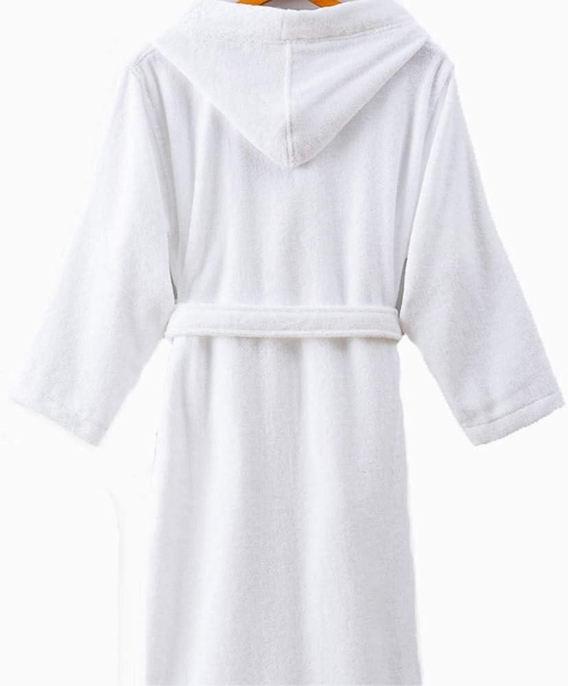 HONGNA Albornoz de Hotel para Hombre y Mujer, de algodón para ...