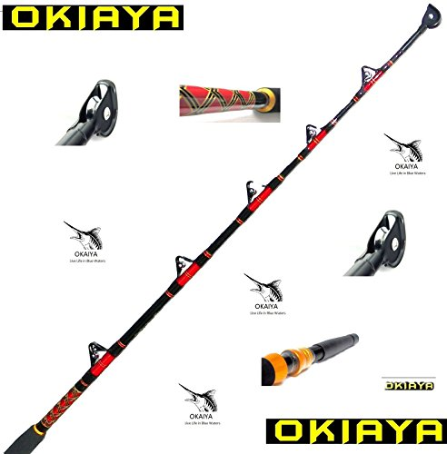 - OKIAYA COMPOSIT 80-130LB Saltwater Big Game Roller Rod