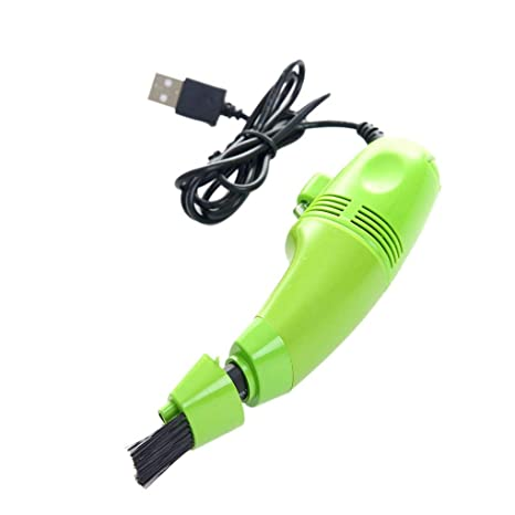 Teclado de la computadora Mini Aspirador del USB del Ordenador portátil PC de Escritorio Teclado Portátil