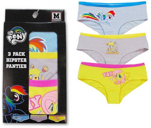 73085219f My Little Pony Rainbow Dash Hipster Brief Panty Set