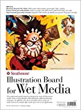 "Strathmore 240-25 500 Series Illustration Board for Wet Media, 15""x22"""