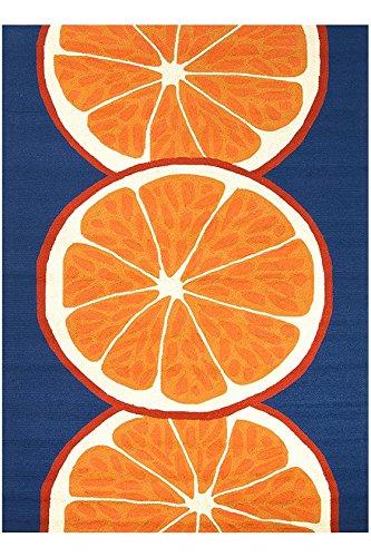Citrus Area Rug, 5'x7'6