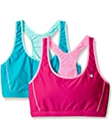 Champion Women's  Reversible Racerback Sport Bra(Pack of 2)