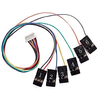 LaDicha Contrôleur De Vol Cc3D 8Pin Connection Cable Set Receiverport