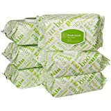Amazon Elements Baby Wipes, Fresh Scent, 480 Count, Flip-Top Packs