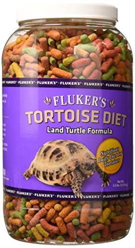 Flukers 70022 Tortoise Diet, Large Pellet - 3.5 Lbs