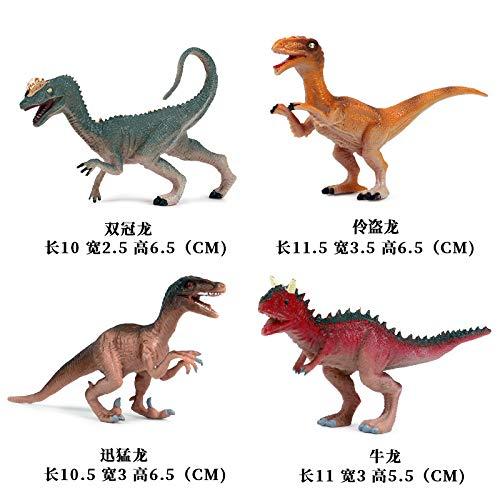 Juguete Modelo de Dinosaurio de simulación sólida para niños ...