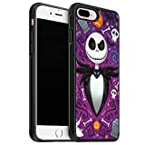 for iPhone 8 Plus Case Nightmare Christmas Case Soft TPU Cover Case for iPhone 8 Plus Case (2017) / Designed for iPhone 7 Plus Case (2016) - Black