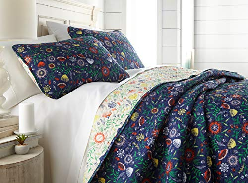 Southshore Fine Living, Inc. The Boho Bloom Collection Quilt 3 Piece Set, Full/Queen, ()