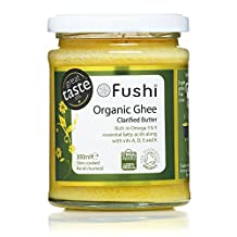 Fushi Ghee Clarified Butter 300ml, Organic Fresh Grass Fed, Hand Churned