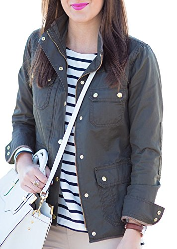 Womens Spring Military Downtown Utility