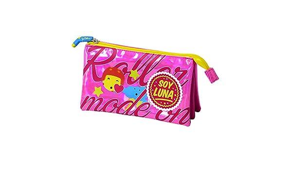 Soy Luna Portatodo Triple, Color Rosa Brillante (Toy Bags 015): Amazon.es: Juguetes y juegos