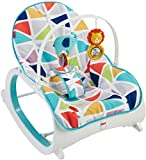 Fisher-Price Infant-to-Toddler Rocker, Geo Multicolor Image