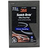 "Scotch-Brite 61500195054 37448 Ultra Fine Hand Pad, 6"" x 9"""