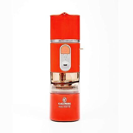 Molinillo de café eléctrico portátil, máquina de café express recargable del USB, conveniente para
