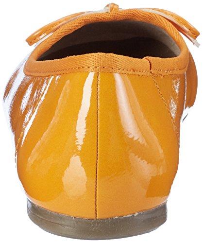 Para Tamaris Patent 634 Naranja Mango Mujer 22118 Bailarinas 88BwqESP