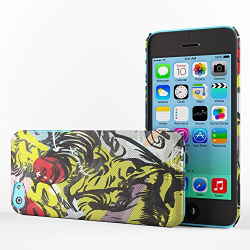 Koveru Back Cover Case for Apple iPhone 5C - Smack on face