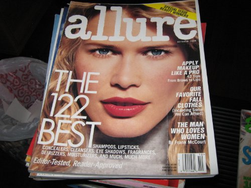 Allure Magazine (CLAUDIA SCHIFFER , The 122 Best , Apply Makeup Like A Pro , Fall Clothes, October (Allure Magazine Best Beauty)