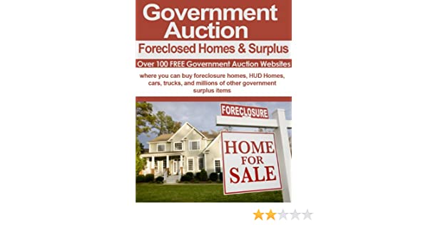 e-book Government Auctions: Cars, Foreclosed Homes and