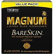 Trojan Mangum Bareskin Lubricated Condoms