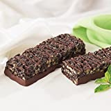 Crispy Chocolate Mint Protein Bars, High in Protein- One Life Diet (7 Bars Per Box) by Healthwise For Sale