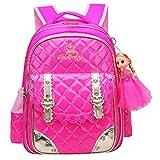 Best Barbie Book Bags - Donalworld Children Waterproof School Backpack Book Bag Review