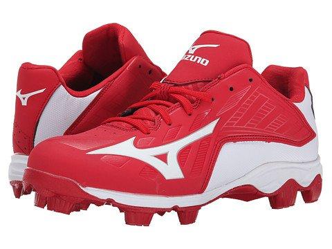 (ミズノ) MIZUNO メンズ野球ベースボールシューズ靴 9-SpikeR Advanced Franchise 8 Low [並行輸入品] B06Y616MSB 30.0 cm D M|Red/White Red/White 30.0 cm D M