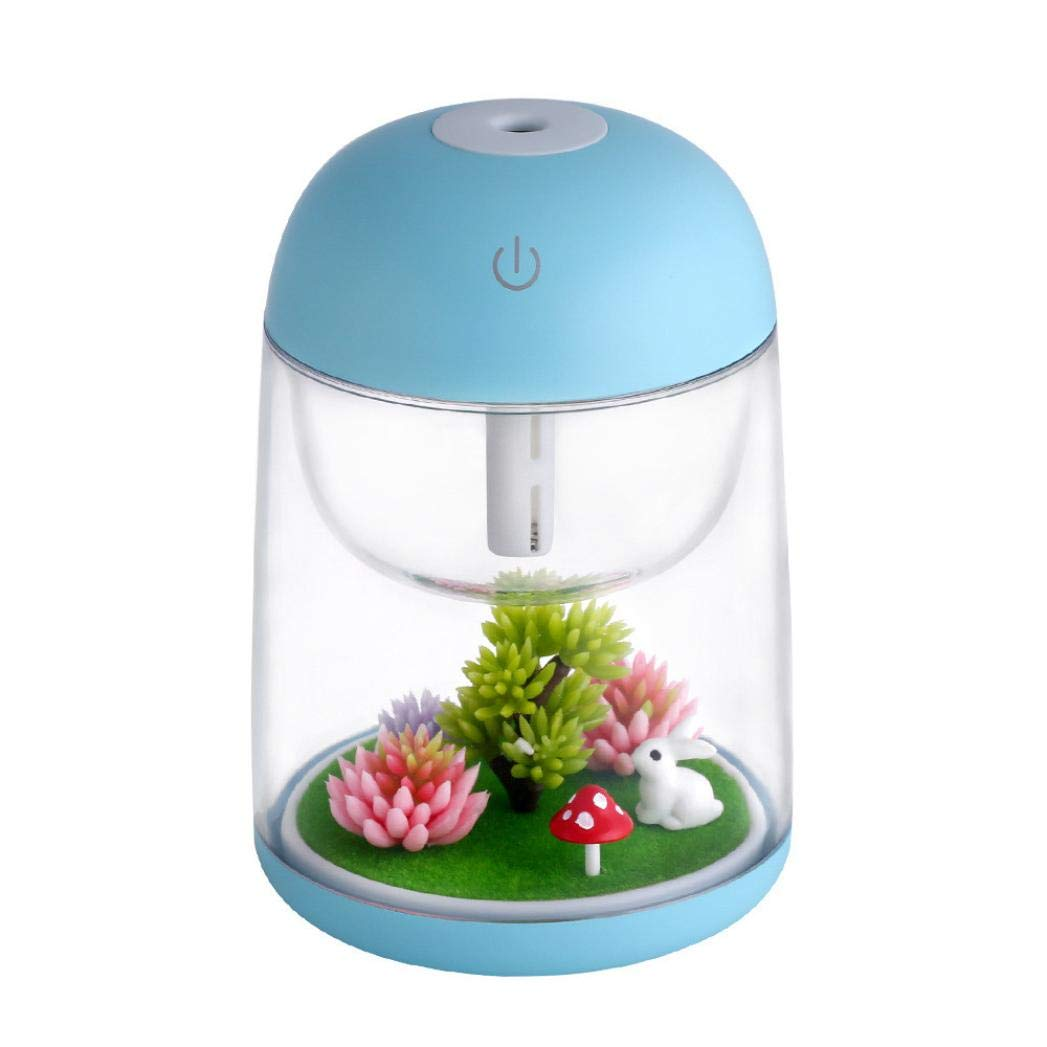 Landscape Night Light Humidifier, Ikevan New Humidifier USB Landscape Lamp Essential Oil Diffuser Night Light Decoration