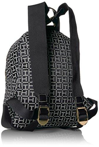 Tommy Hilfiger Women's Backpack Jaden, Black/White by Tommy Hilfiger (Image #2)