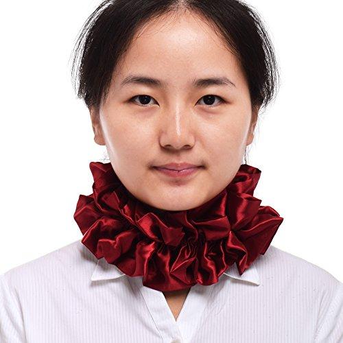 BLESSUME Victorian Renaissance Neck Ruffle Collar Costume Accessory -