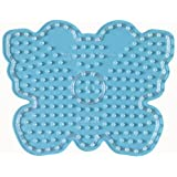 Hama Maxi 8218 transparente Stiftplatte Schmetterling für Maxi Bügelperlen