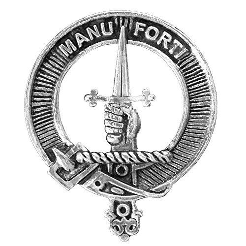 (MacKay Clan Crest Scottish Cap Badge)