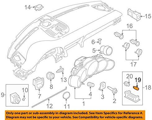 Amazon.com: Porsche OEM 07-18 911-Parking Light Bulb 99963104090: AutomotiveAmazon.com