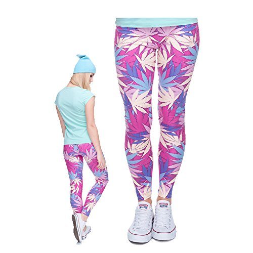 Qiyuxow Leggings Digital Print Skinny product image