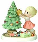 "Precious Moments ""You Brighten my Christmas"" Figurine"