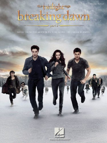 Hal Leonard The Twilight Saga: Breaking Dawn, Part 2 - Music From The Motion Picture Score for Piano Solo