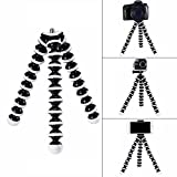 G-raphy Flexible Octopus Tripod Portable Holder Stand for DSLR Digital Cameras Smartphones Video Recorders Mirrorless Cameras