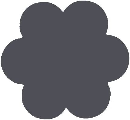 Gro/ßer Motivlocher aus Metall und Plastik zum Basteln mit Papier Vaessen Creative Motivstanzer Blume Ausgestanztes Motiv 50 x 45,6 mm Jumbo Stanzer XL