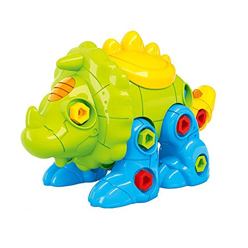 CAILLU Toddlers stem TOYS,Take Apart Dinosaur Toys DIY Learning Toys,Take Apart Fun (Pack of 1),Construction Engineering Building Play Set For Boys Girls Toddlers,Best Toy Gift Kids Ages 3 and (4in 1 Fun Pack)