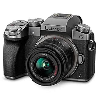 PANASONIC LUMIX G7 4K Mirrorless Camera, with 14-42mm MEGA O.I.S. Lens, 16 Megapixels, 3 Inch Touch LCD, DMC-G7KS (USA… 1