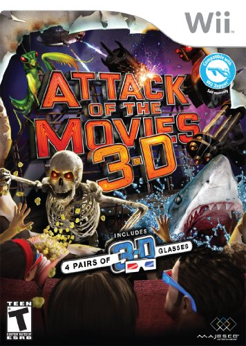 Attack Of The Movies 3D - Nintendo - Nintendo Wii Movie