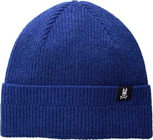 Psycho Bunny Men's Watchman Winter Hat Aegean One Size