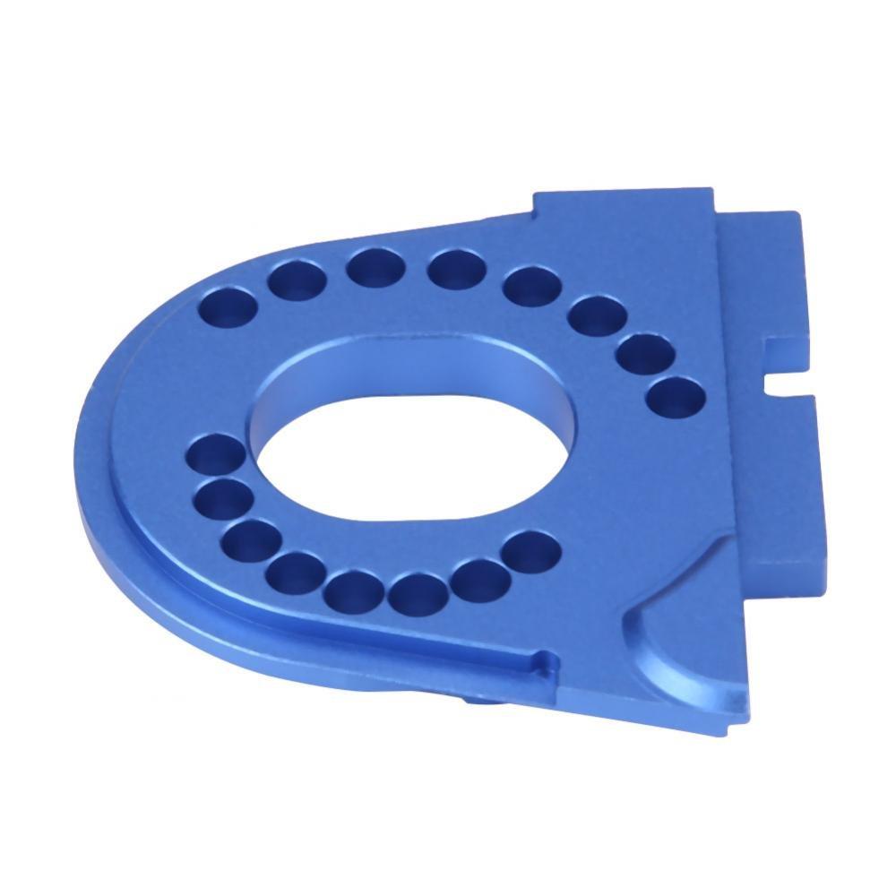 Blau Dilwe RC Auto Halterung RC Motorhalterung Halterplatte Aluminiumlegierung f/ür Traxxas TRX4 Crawler