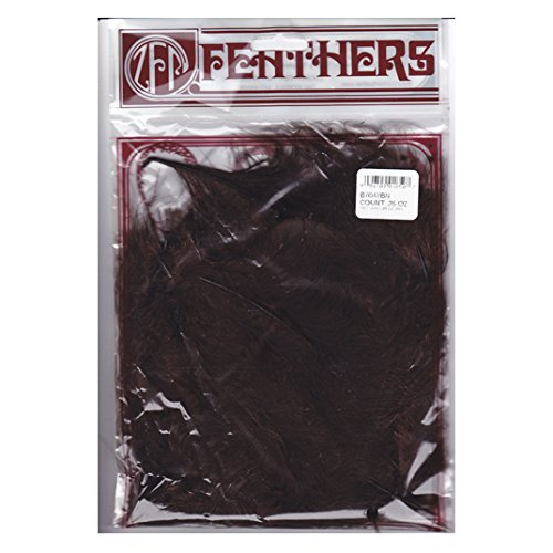 Zucker Feather (TM) - Loose Turkey Marabou Dyed - Brown -