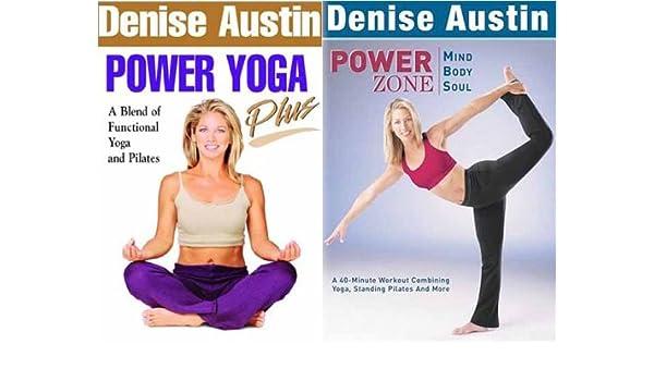 Amazon.com: Denise Austin - Power Yoga Plus / Power Zone ...