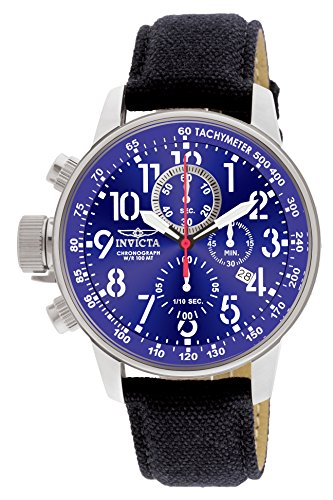 Invicta Men's 1513 I Force Collection Stainless Steel and Cloth Watch