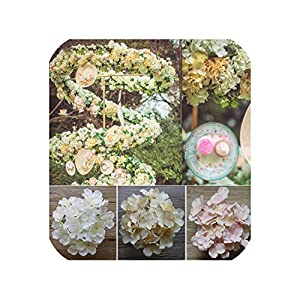 Artificial Flower Heads Hydrangea Orchid Flower DIY Flores Home Decoration Wedding Flower Bedroom Accessory 15pcs/lot 7