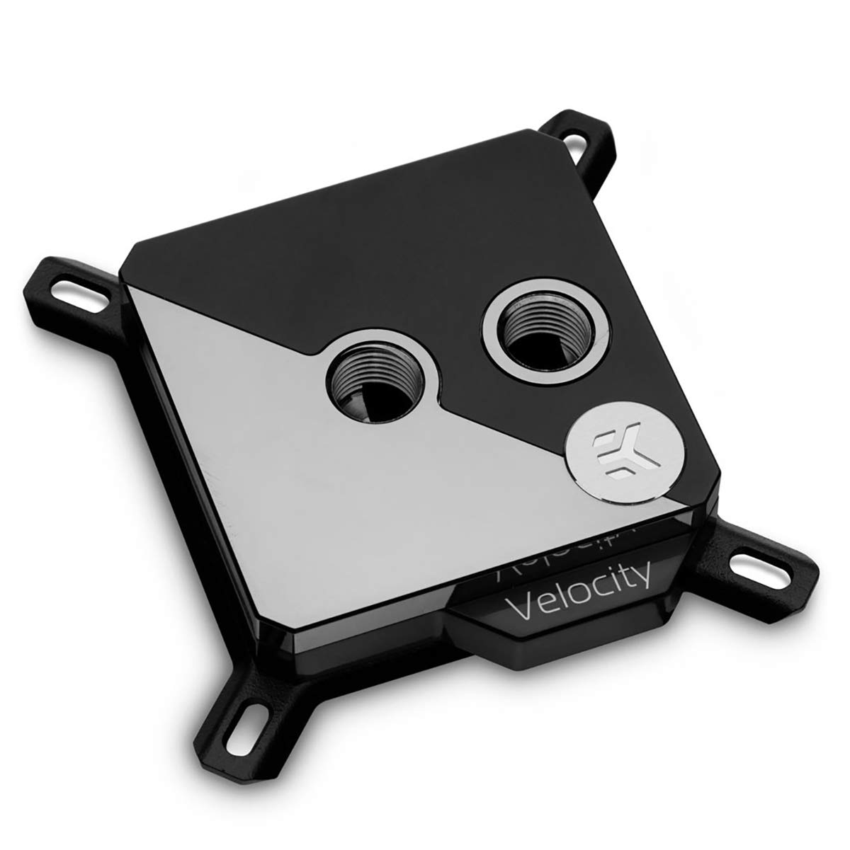 EKWB EK-Velocity Strike CPU Waterblock, RGB, Black Nickel/Black